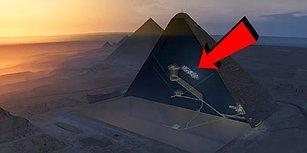 Sırlar Açığa Çıkıyor: Bilim İnsanları Keops Piramidi'nde Yeni Bir Bölme Keşfetti!