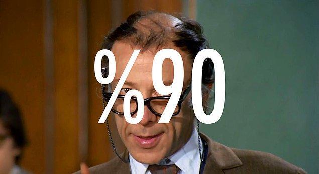 Sen ortaokul bilgilerinin %90'ını hatırlıyorsun!