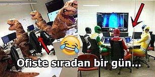 Ofis Hayatının En Esprili Çalışanlarından Sizi Kahkahalara Boğacak 26 Görüntü