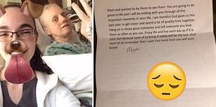 Kanser Hastası Bir Annenin Hayata Veda Etmeden Önce Kızına Yazdığı Anlamlı Mektup