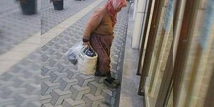 Anadolu İnceliği: Bankanın Kapısında Çamurlu Ayakkabısını Çıkaran Teyze