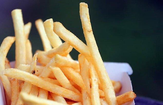 4. Yağzız kızartma yapan bir makine edinin. Ayrıca unutmayın ki patates kızartmasında gluten yok.