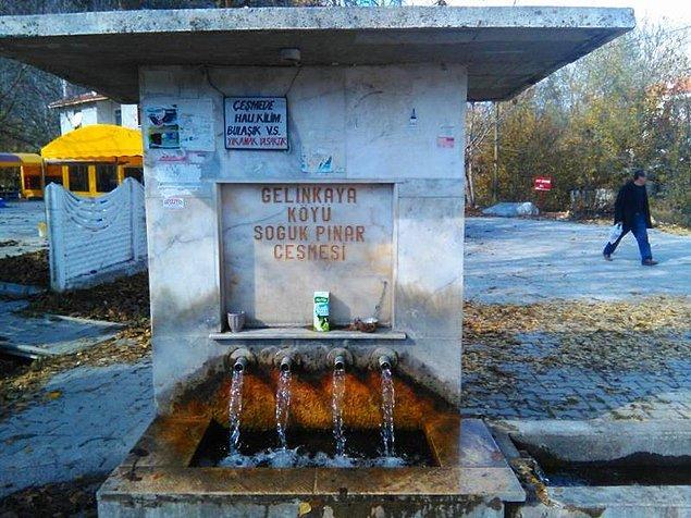 8. Dışarı çıktığında her yer kapalı olsa bile içme suyunu dert etmemek. (Her yerin kapalı olduğu saatler vardır ki bu dert edilir.)