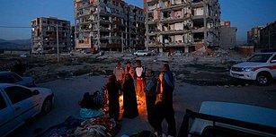 Saniyeler İçinde Yerle Bir Olan Hayatlar: Korkunç Görüntüler ile İran - Irak Sınırında Meydana Gelen Deprem Felaketi