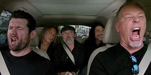 Metallica'dan Carpool Karaoke'de Muhteşem 'Diamonds' Yorumu