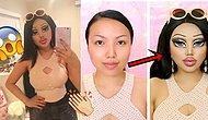 İstediği Her Karaktere Bürünebilen Makyaj Sanatçısının En Son Trendi: Oyuncak Bebek Makyajı!