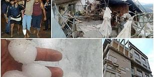 Hortum Antalya'yı Yıktı Geçti: 38 Kişi Yaralandı, 2 Bin Dönüm Sera Zarar Gördü