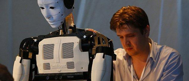 Yapay zeka ve robotlar işlerimizin çoğunu gerçekleştirdiği için daha iyi beslenmeye, kendimizi dinlemeye vaktimiz var.