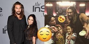 Yakışıklılık Abidesi Jason Momoa, 8 Yaşından Beri Deli Gibi Aşık Olduğu Lisa Bonet ile Evlendi!