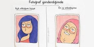 Kadınların Günlük Beklentilerini ve Nasıl Hayal Kırıklığına Uğradıklarını Anlatan 15 Karikatür