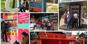 Tüm Türkiye'de Görmeyi Diliyoruz! Hepsi Birbirinden Güzel 20 Sokak Kütüphanemiz