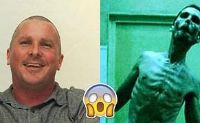 Yine Tanınmaz Halde! Nefes Alırcasına Şişmanlayıp Zayıflayan Christian Bale'in Son Hali Yine Herkesi Şaşkına Çevirdi!
