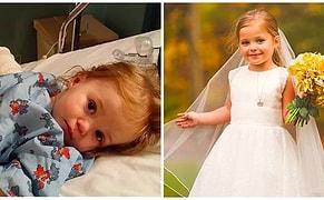 Dördüncü Açık Kalp Ameliyatından Önce En Yakın Arkadaşıyla 'Evlenmek' İsteyen 5 Yaşındaki Sophia'nın Göz Yaşartan Fotoğraf Çekimi