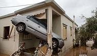 'En Az' 16 Can Kaybı, Üç Gün Yas: Yunanistan'daki Sel Felaketini Gözler Önüne Seren 23 Fotoğraf