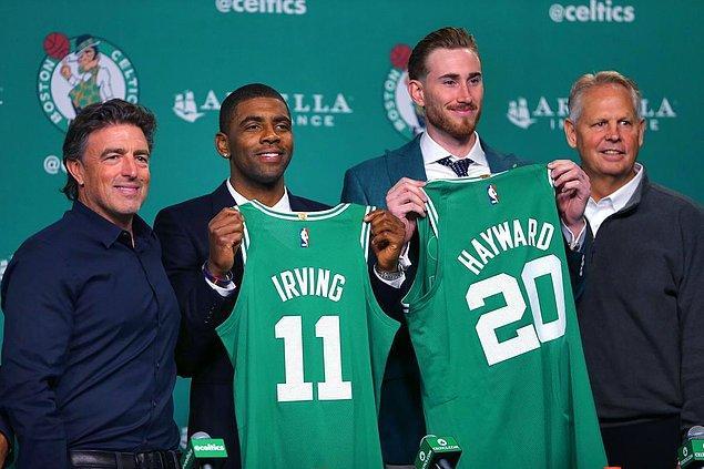 10. Kyrie Irving:  (Cleveland Cavaliers ➡ Boston Celtics)