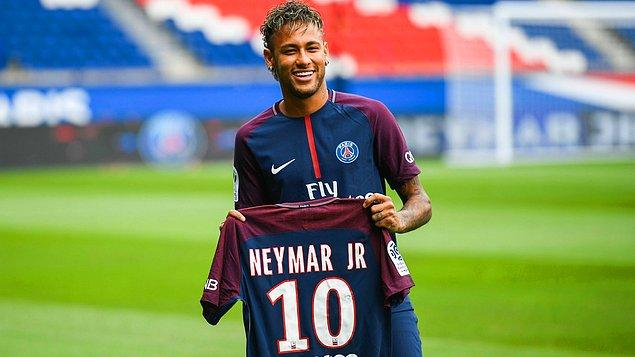 1. Neymar: 222 Milyon Euro (Barcelona ➡ PSG)