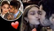 Birlikteliklerinin İkinci Yılını Kokteyller ve Öpücüklerle Kutlayan Minnoş Çift: Gigi ve Zayn