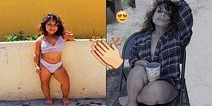 'Cücelik' Olarak Bilinen Diwarfizm Hastası Genç Kız Güzellik Standartlarına Karşı Moda Dünyasına Atıldı!
