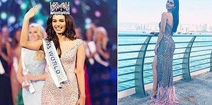 2017 Miss World Birincisi Hindistan'tan Manushi Chhillar Oldu