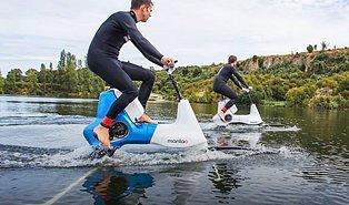 Bisiklet Binme Zevkini Suyun Üzerine Taşıyan Muhteşem İcat: Hydrofoiler