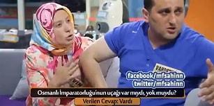 'Osmanlı İmparatorluğu'nun Uçağı Var mıydı, Yok muydu?' Sorusuna Verdikleri Cevaplarla Ağızları Açık Bırakan Çift