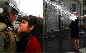 Kadınların, Tüm Zamanların En Güçlü Protestocuları Olduğunu Kanıtlayan 24 Etkileyici Fotoğraf