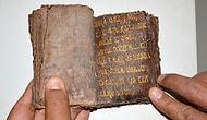 Kaçakçılar 7.5 Milyon Liraya Satacaktı: 7 Asırlık Altın Yazmalı Tevrat Emin Ellerde