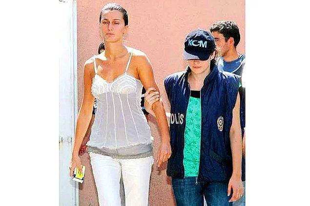 7. Tuğba Özay'ın sevgilisinin vurulması için azmettirici olarak yargılanıp tutuklanması