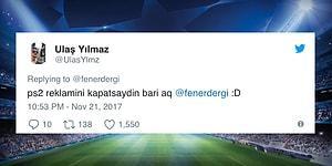 Beşiktaş'a Gönderme Yapmak İçin Fenerbahçe'nin Şampiyonlar Ligi Maçından Bir Kare Paylaşan Taraftarı Buna Pişman Eden Yorumlar