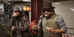 Maroon 5 ve Jimmy Fallon'dan New York Metrosunu Kullananlara Muazzam Sürpriz