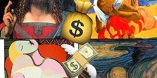 Sanat Açlığınızı Doyurmanın En Tuzlu Halleri Bunlar! Uçuk Fiyatlarıyla Dünyanın En Pahalı 10 Tablosu