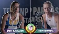 Maria Sharapova ile Yapacağı Maç Öncesinde Çağla Büyükakçay'a Desteklerini Esirgemeyen 10 Kişi
