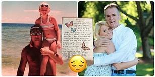 Vefat Ettikten Sonra Doğum Gününde Kızına Çiçek Göndermeye Devam Eden Babanın Mektubunu Görünce Gözyaşlarınıza Engel Olamayacaksınız!