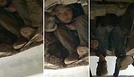 Anne ve Babalarına Kavuşmak İçin Otobüs Şasisinde 80 Kilometre Giden Çocuklar
