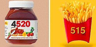 Sıkça Tükettiğimiz Ürünlerin Logoları Kalori Değerleriyle Yer Değiştirse Ne Olurdu