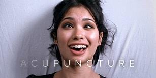 Hayatlarında İlk Defa Akupunktur Yaptıran İnsanların Ağır Çekimdeki İnanılmaz Surat İfadeleri