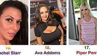 İnternette En Çok Aranan 19 Porno Yıldızı