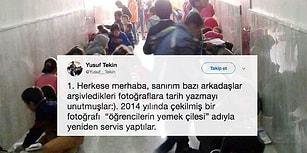 'Göktepe İlkokulu Öğrencilerinin Yemek Çilesi' Haberine MEB Müsteşarı Yusuf Tekin'den Yalanlama Geldi