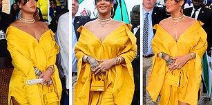 Rihanna Kendi İsmi Verilen 'Rihanna Drive' Sokağının Açılışında Barbados'a Güneş Gibi Doğdu! ☀️