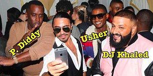 Milli Kasabımız Nusret, DJ Khaled'in Doğum Günü Partisinde Ünlülere Elleriyle Et Yedirdi