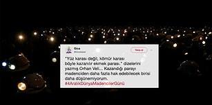Yerin Metrelerce Altında ve Ölümün Kıyısında: İşçiler #4AralıkDünyaMadencilerGünü'nde Ölen Arkadaşlarını Andı