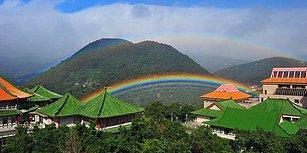 Yağmurun En Uzun 'Af Dilemesi': Tayvan'da Dokuz Saat İzlenen Gökkuşağı Rekor Kırdı 🌈