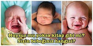 Bu Testle Bebeğinizin Ne Tip Olduğunu Söylüyoruz!