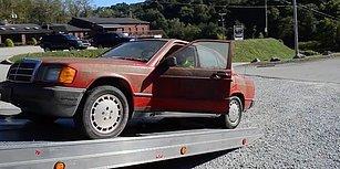 Oto İç Dış Temizlemede Arşa Çıkmış Ekibin Eline 1982 Model Mercedes Verilirse