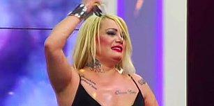 Nerdesin Bacısını S...evdiğim Parçasıyla Gündem Olan Angara'nın Lady Gaga'sı Çatlak Şanzel
