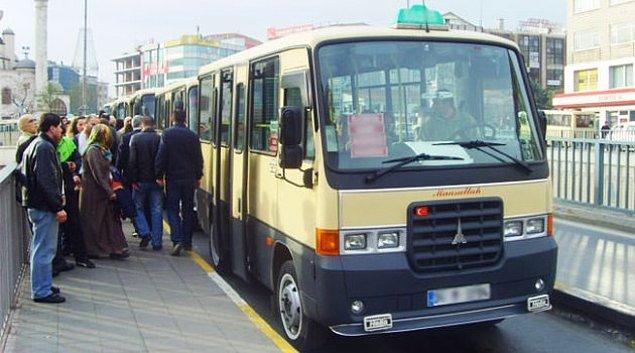 11. İstanbul'da bir kişilik minibüs ücreti 125.000 TL - 150.000 TL arası