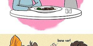 Bazı Şeyleri Aşan Çiftlere Gelsin! Samimiyetiyle Bizi Ortadan İkiye Çatlatacak 10 Kahkaha Dolu Karikatür