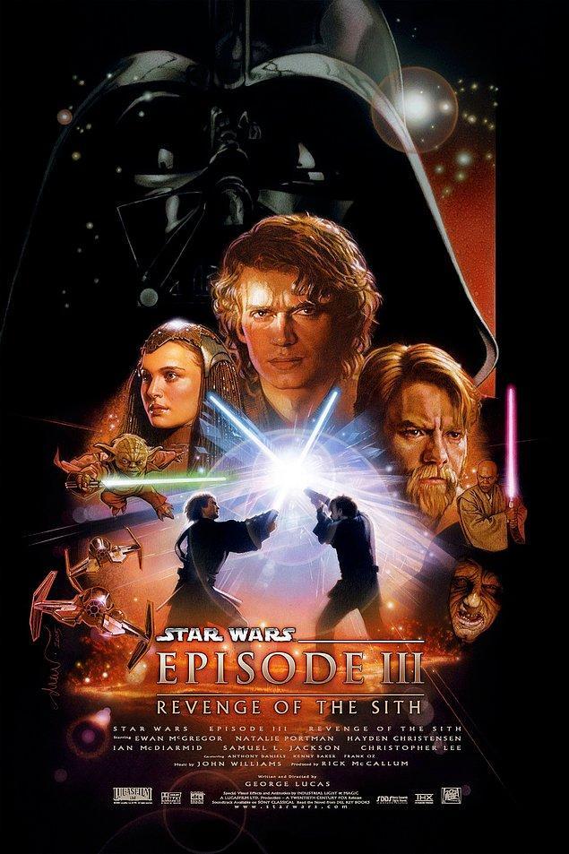5. Star Wars Bölüm 3: Sith'in İntikamı