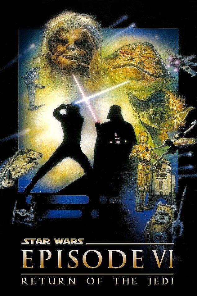 11. Star Wars Bölüm 6: Jedi'ın Dönüşü