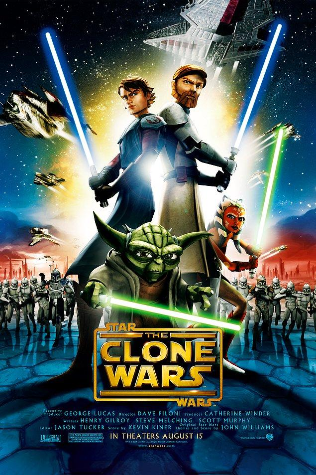 3. Star Wars: Klon Savaşları Animasyon Dizisi